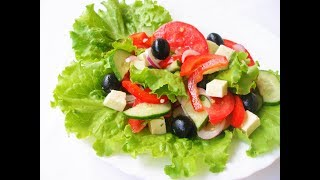 Греческий Салат, Интересный Вариант/Greek salad, an interesting option