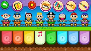 Piano Kids Music Songs for kids - Instrumental game for kids | Gameplay 001