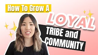 How to Grow A LOYAL Tribe and Community on Facebook and Instagram (Social Media Tips!) Video