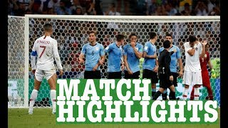 Uruguay vs Portugal World Cup Football Highlights 2018