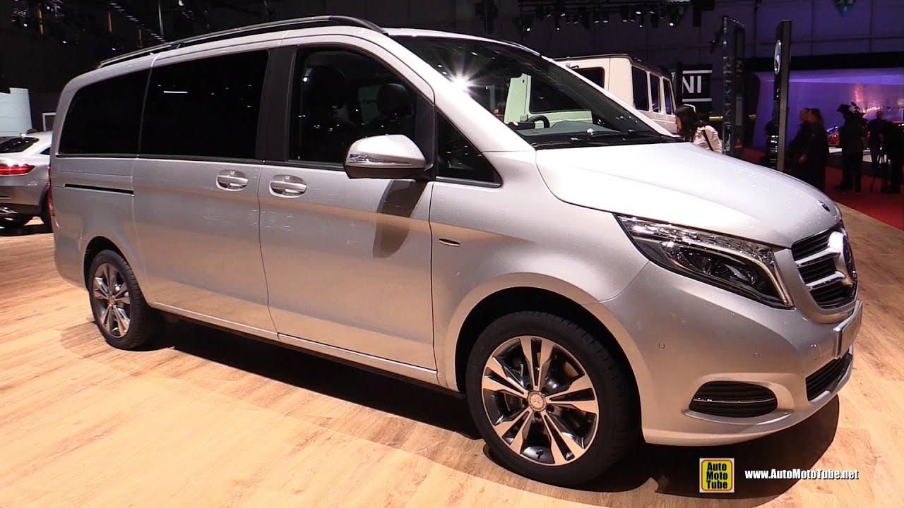in van appear benz plug concept geneva hybrid class v minivan mercedes merc to