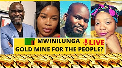 MWINILUNGA GOLD MINE IN ZAMBIA 🇿🇲 AFRICA IS WEALTHY LET'S DISCUSS