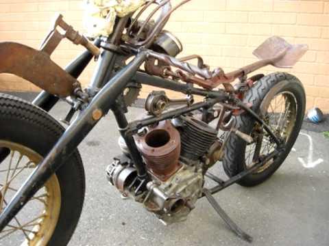 Metal Art Motorcycle - YouTube