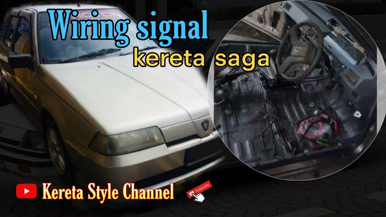 Wiring Signal Kereta Saga Kereta Style Channel Youtube