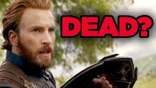 Avengers 4 - CAP DEATH REVEALED? (Chris Evans Tweet Explained!)