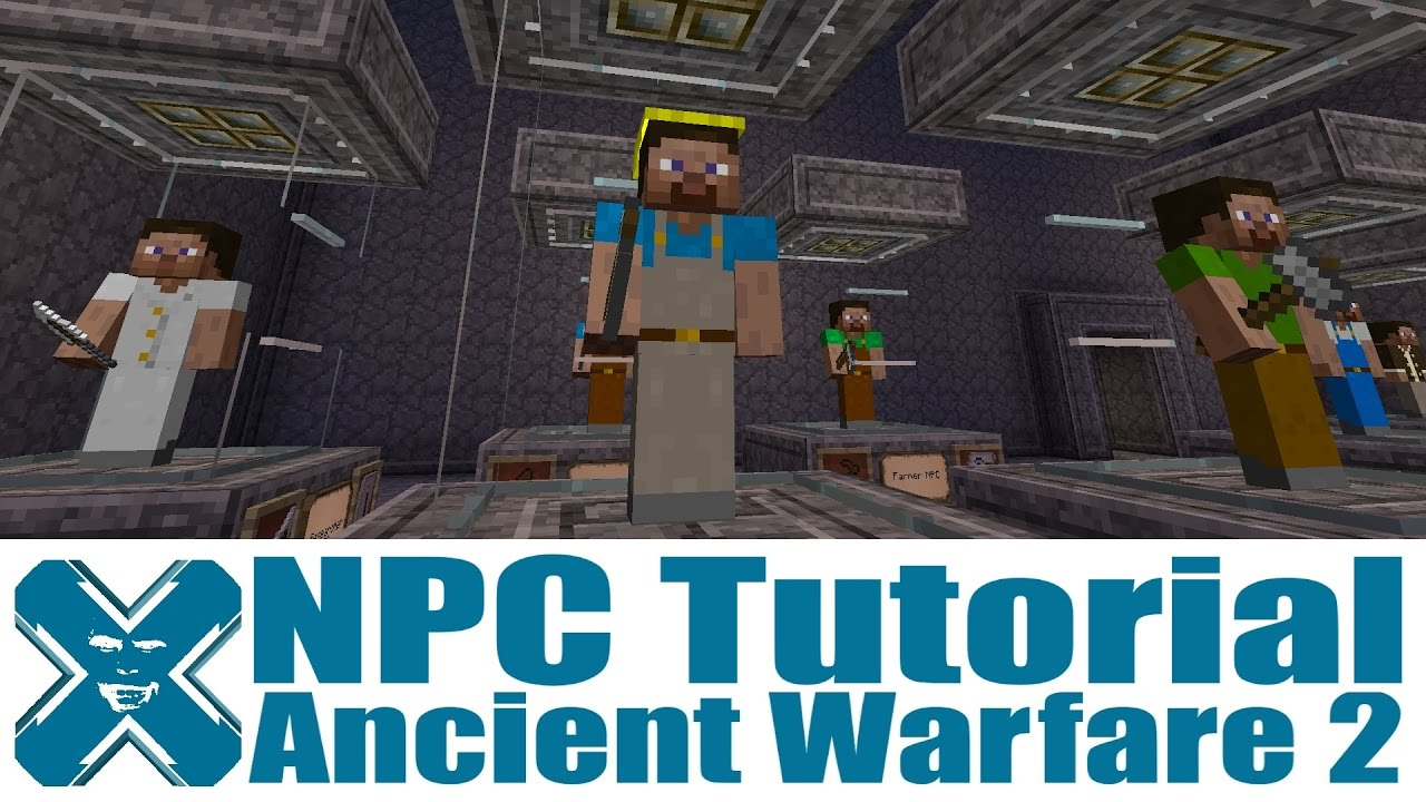 Ancient Warfare 2 - NPC Tutorial - YouTube