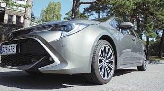Koeajossa uusi Toyota Corolla Hybrid (Teknavi 2019)