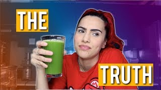 I TRIED CELERY JUICE FOR A WEEK | WHAT THEY AREN'T TELLING YOU | BodmonZaid
