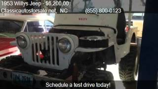 1953 Willys Jeep  for sale in Nationwide, NC 27603 at Classi #VNclassics