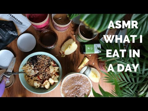 ASMR What I Eat In a Day on The Self Love Diet