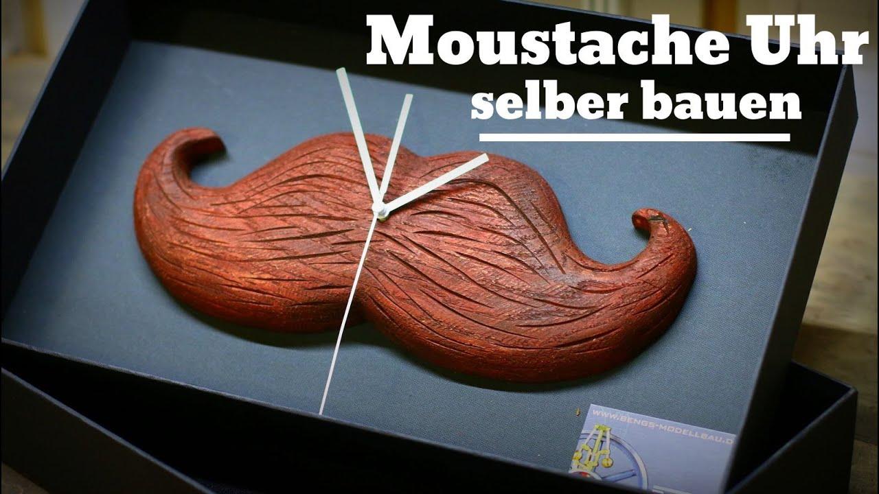 schnurrbart moustache uhr selber bauen mit arbortech mini. Black Bedroom Furniture Sets. Home Design Ideas