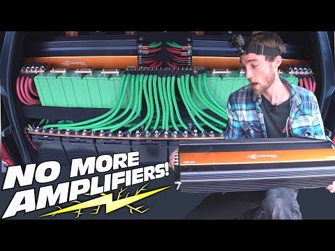 REMOVING a $15,000 Car Audio System!! EXO's 30,000 Watt AMPLIFIER Install w/ Lithium & AGM Batteries