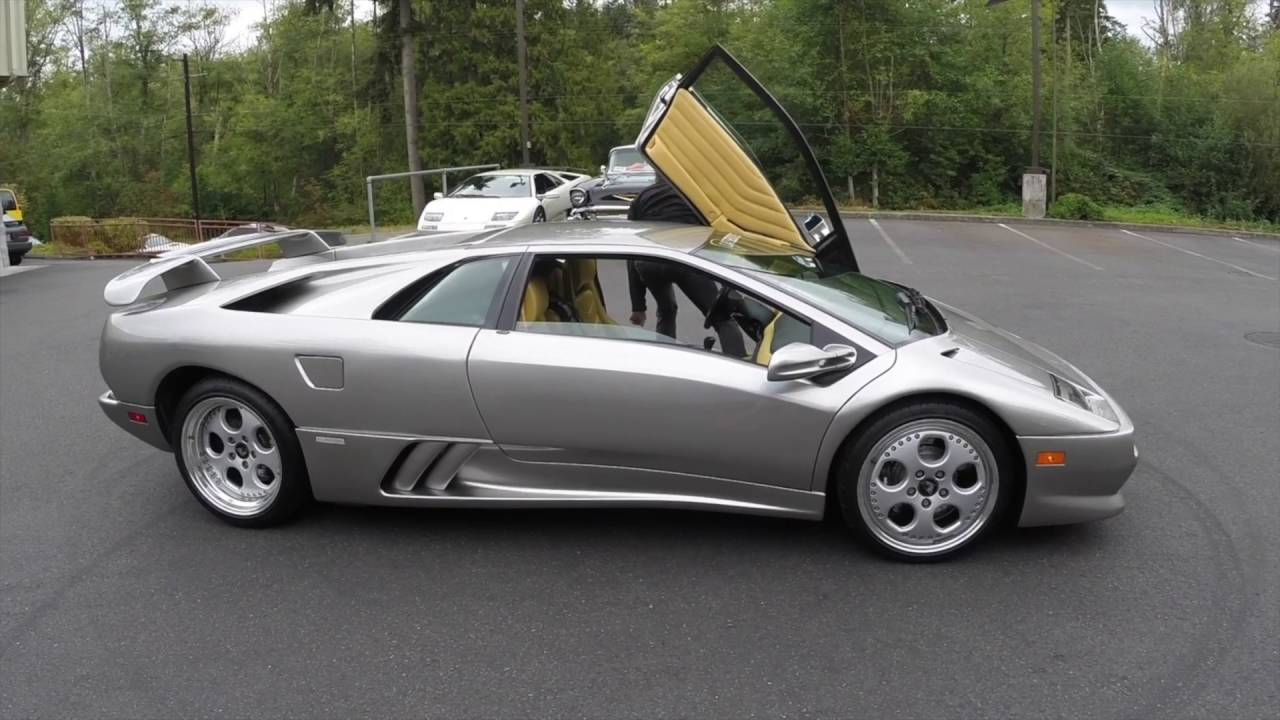 1999 lamborghini diablo vt for sale