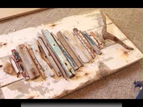 DIY Driftwood craft projects ideas YouTube