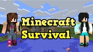 Minecraft Survival - COMEÇAMOS COM SORTE (NOVA SÉRIE) #01