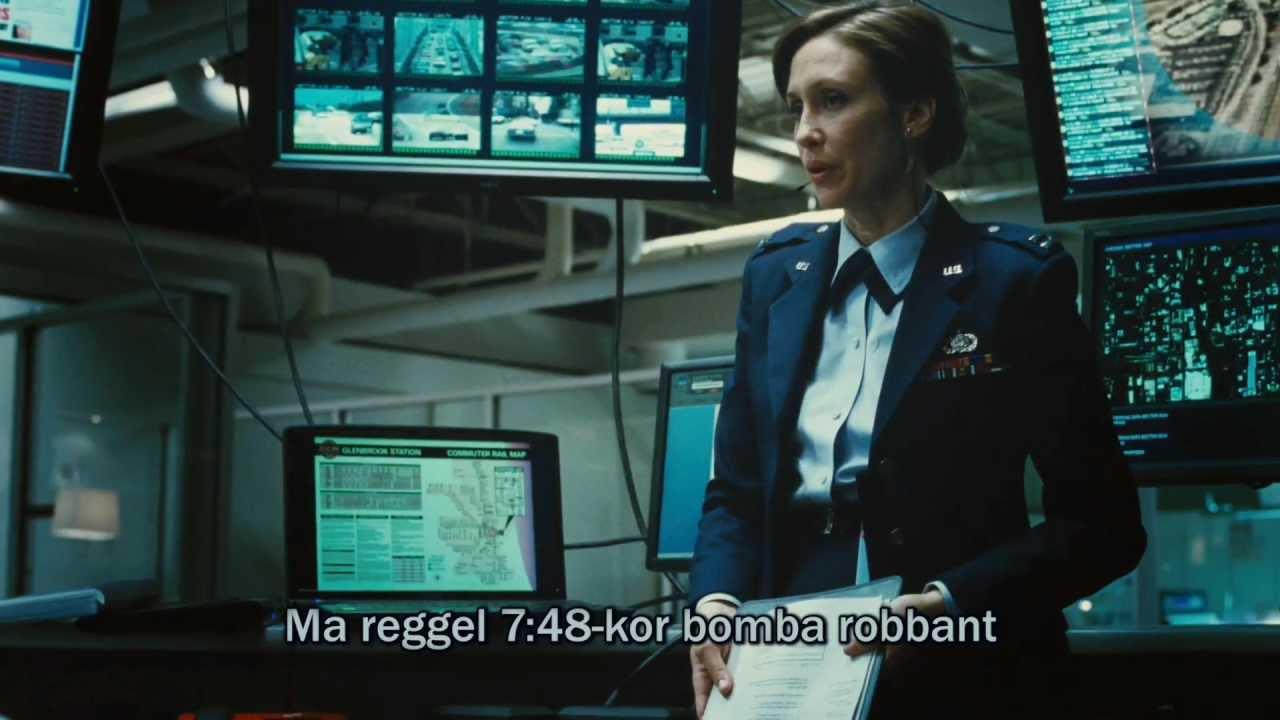 Forráskód ( Source Code ) magyar előzetes trailer