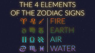 The elements are one of main components from which signs derive their meaning. to learn more about qualities that pair up make elements, w...
