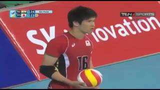 Vaishnav volleyball #asian games #Japan vs India