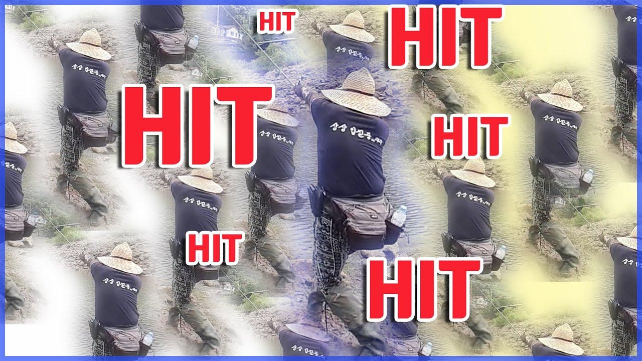 배스낚시_ Hit , Hit , Hit !! 덩치큰 배스와 함께 HiT !!!   BassFishing バス釣り