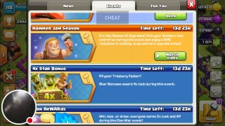 new update clash of clans mantanence break