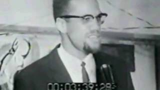 Malcolm X speaks on the white, European view of history (on racialism)