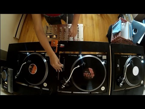 4 decks - Vinyl - Tech House Mini Set - by Cassandria Daiva