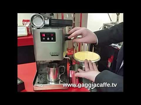 Gaggia Maintenance - Gaggia Caffe TV