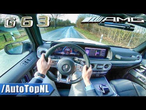 2019 MERCEDES AMG G Class G63 4Matic 585HP 4.0 V8 BiTurbo POV Test Drive By AutoTopNL