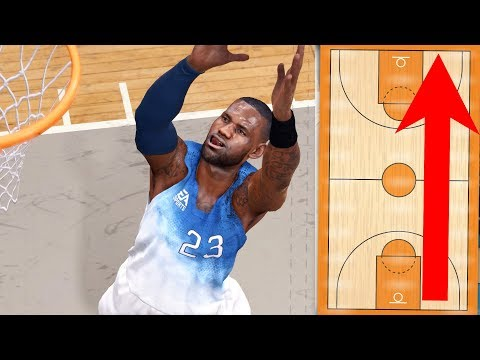 Can LeBron James Throw A Full Court Alley Oop To Himself? NBA Live 18 Challenge