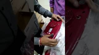 Inalsa Era 450-Watt Juicer Mixer Grinder (Red and White) unboxing full review