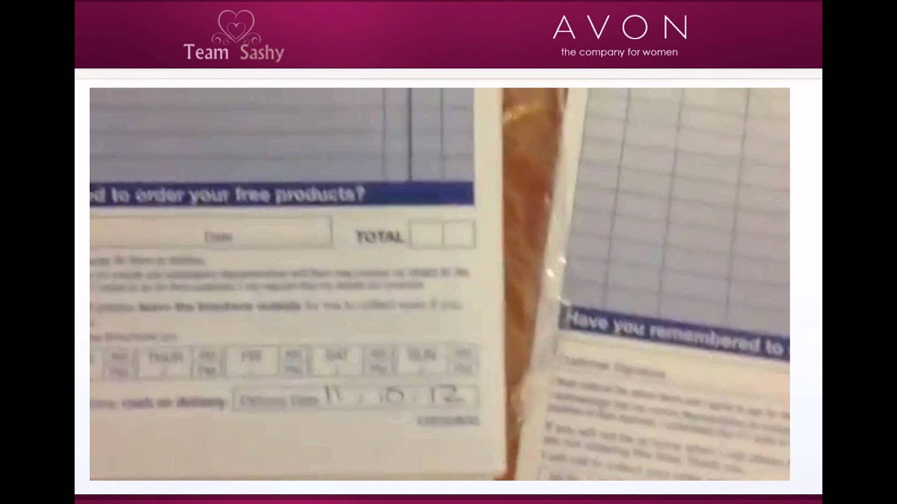 Receipt Table Word Download Avon Receipt Template  Rabitahnet Goods Receipt Excel with Shortbread Receipt Excel Avon Rep  How To Fill In Your Order Forms  Youtube Invoice Templates Rent Invoice Template Word Pdf