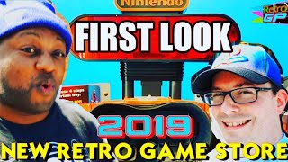 New RETRO Game Store opened today in Portland OR - SideQuest Games - 2019 - Retro GP
