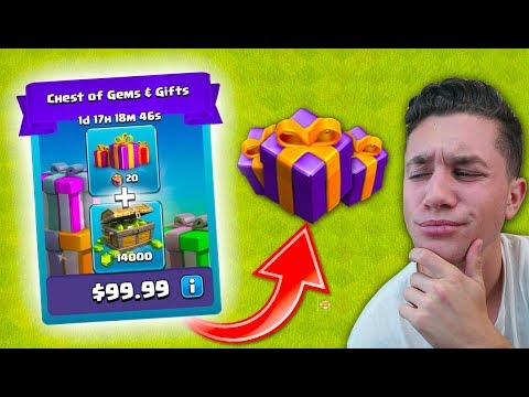 BUYING THE MOST EXPENSIVE GIFTS… WHAT HAPPENS? (Clash Of Clans)