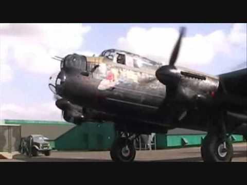 Merlin Madness - Just Jane - Engine Music - Avro Lancaster
