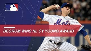 Mets ace Jacob deGrom wins the 2018 NL Cy Young Award
