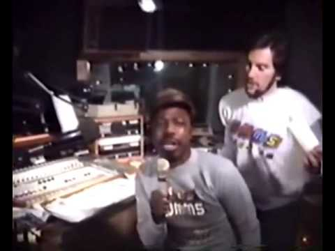 Captain Kenny Clean on the WMMS Buzzard Morning Zoo, Sept., 1985