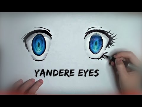 How to draw yandere eyes youtube ccuart Image collections