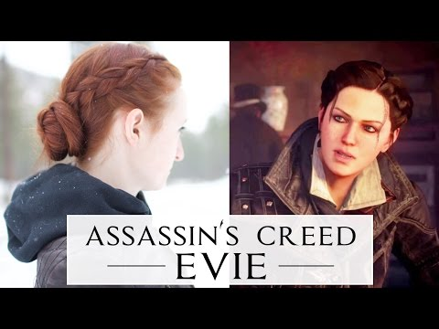Assassin S Creed Hair Tutorial Evie Frye Youtube