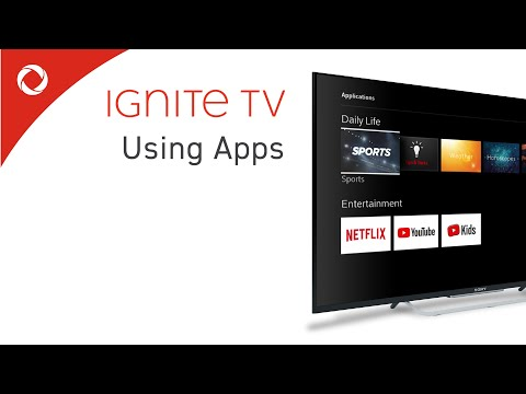 Using Apps On Ignite TV