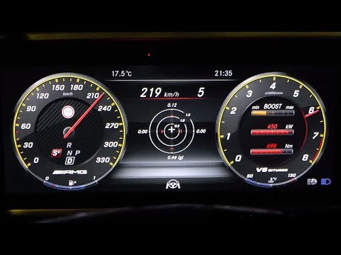 2018 Mercedes-AMG E 63 S 4Matic+ 612 HP 0-200 Km/h Acceleration +AMG Track Pace