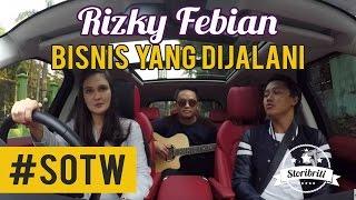 Luna Maya - Rizky Febian, Selebriti On The Way Part #14