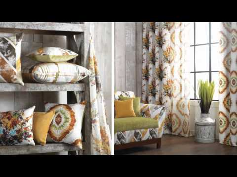 Printed Curtain & Upholstery Fabric Collection by Homes Furnishings
