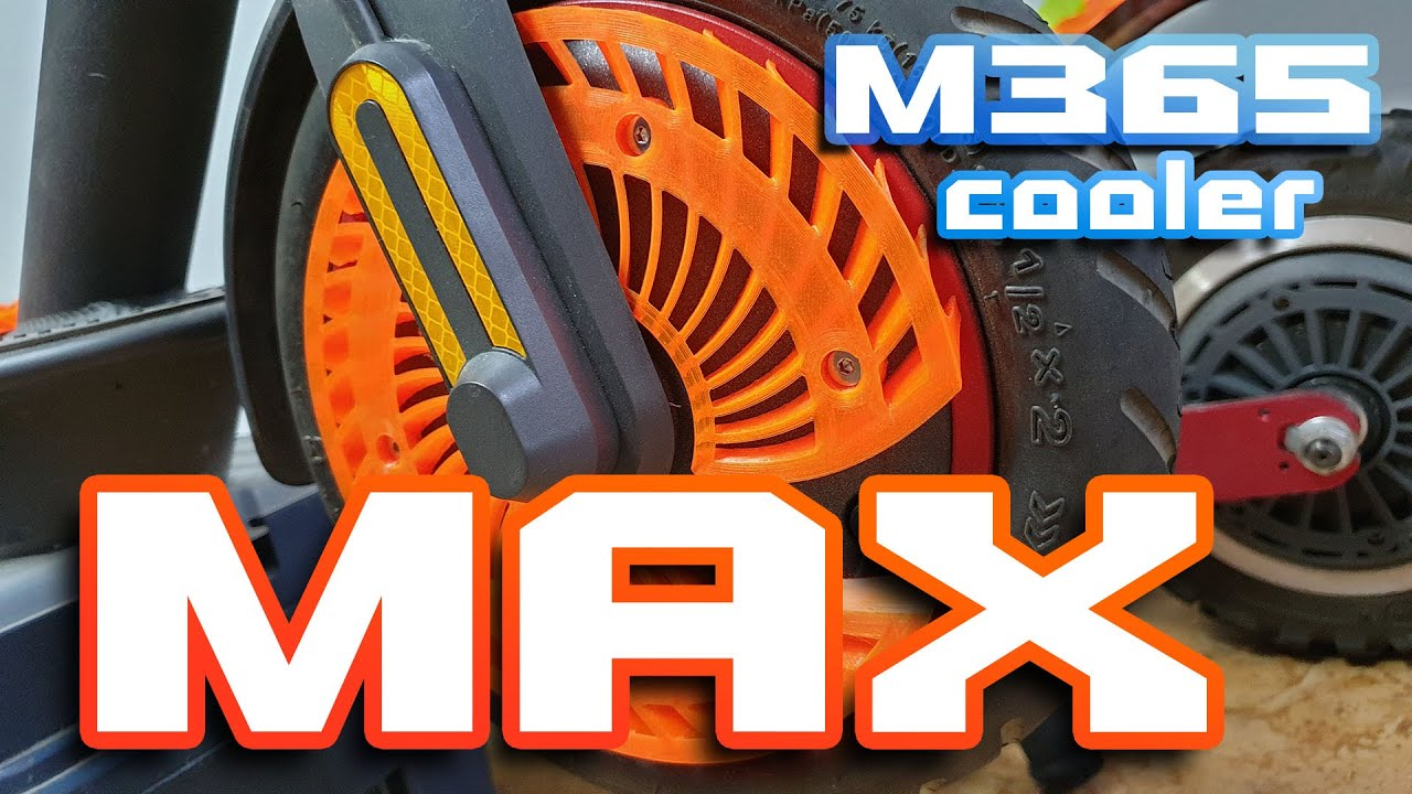 Xiaomi M365 MAX Cooler 🛴⚡ It could be difficult to build better cooler than this 🚀