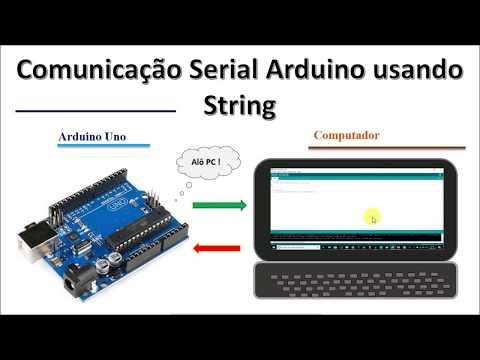 Comunicação Serial Arduino  Arduino String Tutorial Serial.available