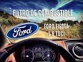 Cambio filtro de combustible Ford Fiesta 1.6 TDCI