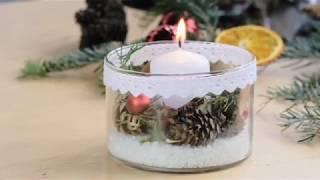 DIY: Sviečka v skle