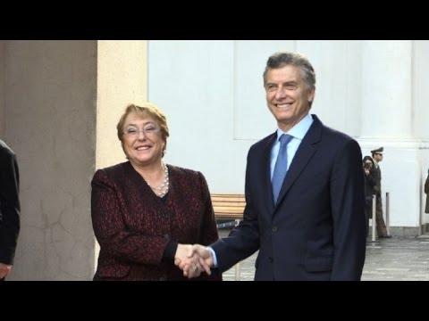 Chile y Argentina celebran avances en su integración comercial