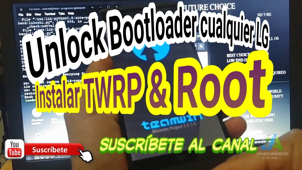 Unlock Bootloader | Install TWRP | Root LG V20 H918