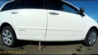 ПРОСТАВКИ + УСИЛЕННЫЕ ПРУЖИНЫ !  Тойота Королла Филдер ( Toyota Corolla Fielder )