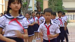 NHAY CHA CHA CHA Tiểu học Nguyễn Nghiêm_tp  QUANG NGAI